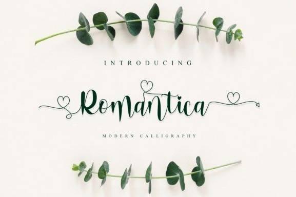 Romantica Modern Handwritten Font