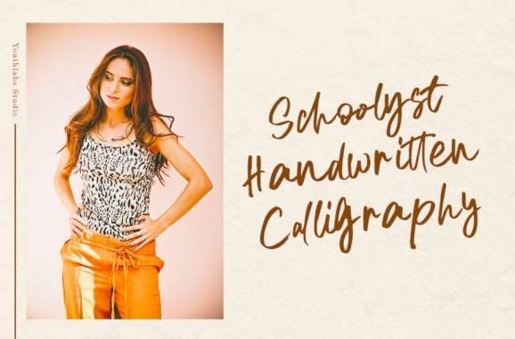 Schoolyst Handwritten Font free