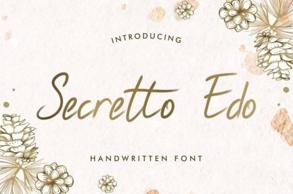 Secretto Edo Font download