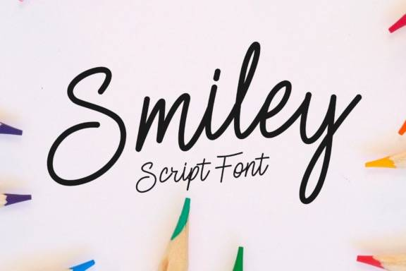 Smiley Monoline Font download