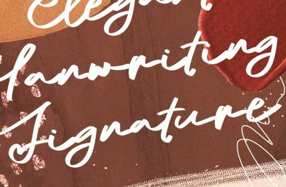 South Portland Signature Font free