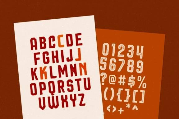 Squiborn Display Font free