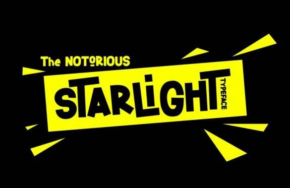 Starlight Display Font free download