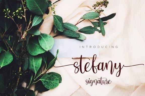 Stefany Handwritten font