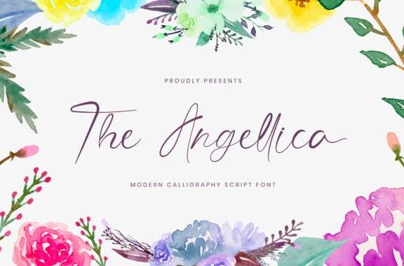The Angellica Font download
