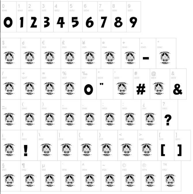 The Minion Font Family free