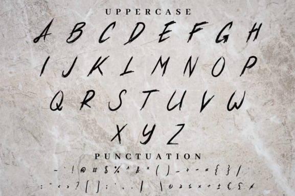 free Xander Bruce Script Font