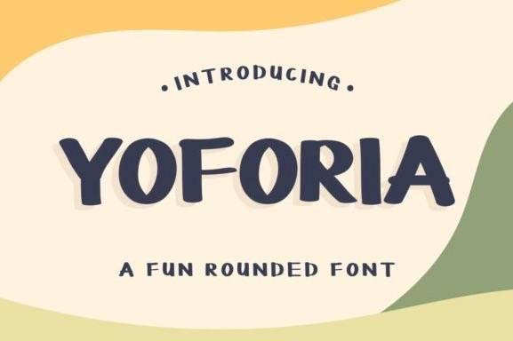YOFORIA Fun Rounded Font