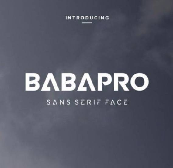 Baba Pro Sans Font