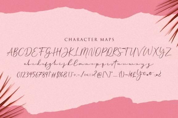free Cherolina Lovely Elegant Handwritten Font