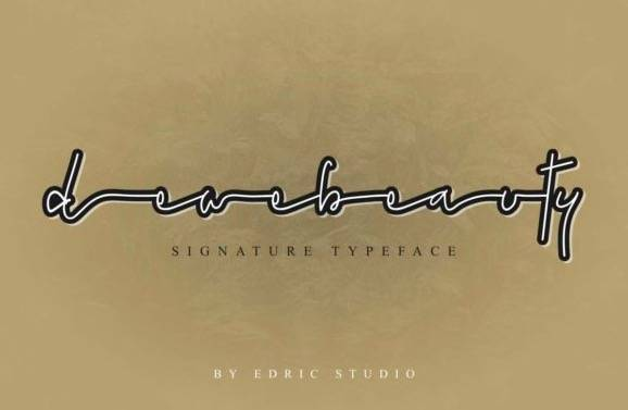 download Dewebeauty Handwritten Font