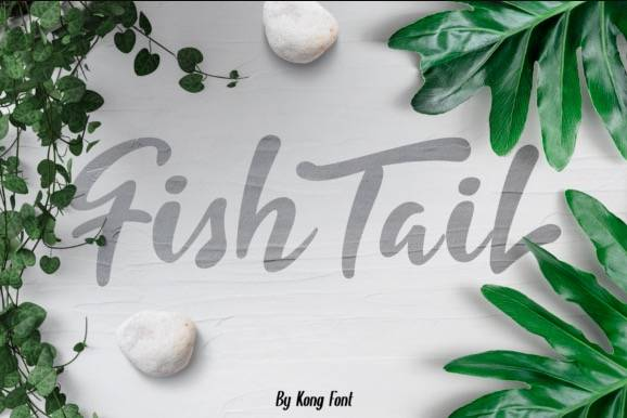 download Fishtail Decorative Font