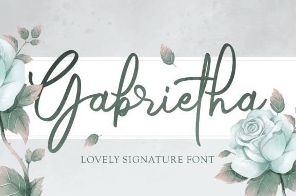 download Gabrietha Handwritten Font