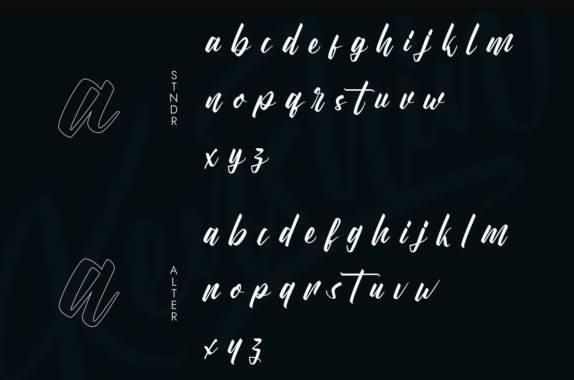 free download Kenshin Calligraphy Font