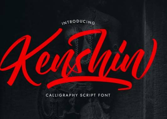 Kenshin Calligraphy Font