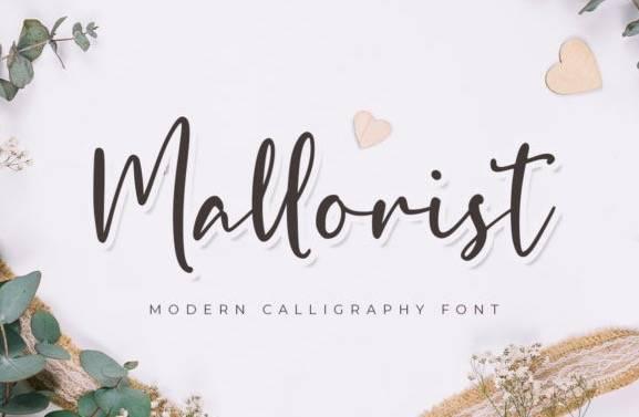 Mallorist Handwritten Font