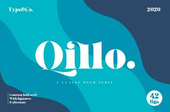 download Qillo Serif Font