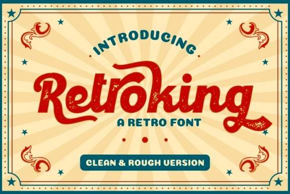 Retroking Retro Font