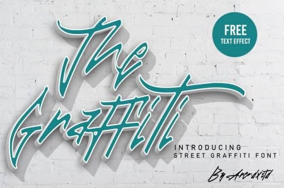 The Graffiti Font Free
