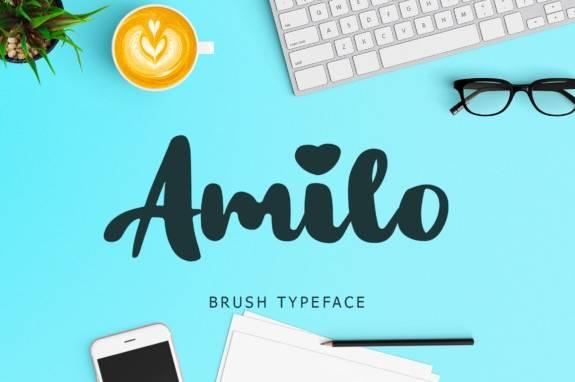 Amilo Unique Script Font download