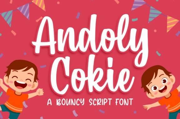 Andoly Cokie Handwritten Font