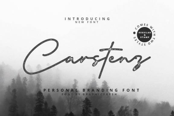 Carstenz Monoline Font