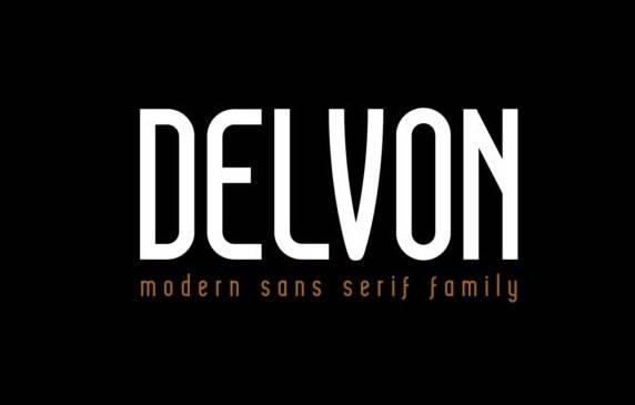 Delvon Sans Serif Font