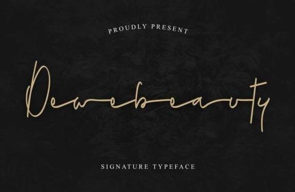 free Dewebeauty Handwritten Font download