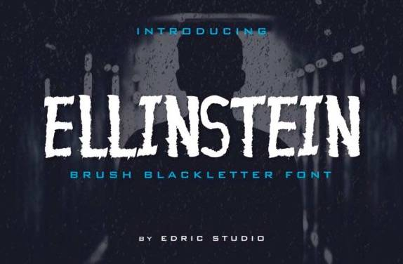 Ellinstein Decorative Font