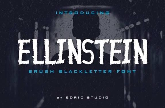 Ellinstein Decorative Font