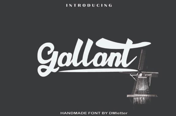 Gallant Calligraphy Font