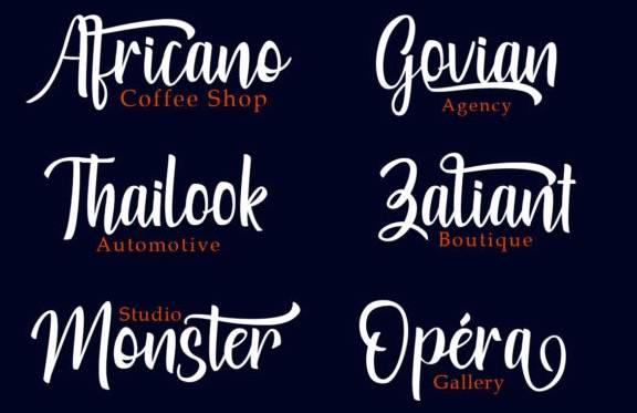 Losteria Script Brush Font download