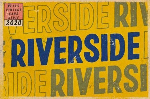 Riverside Display Font