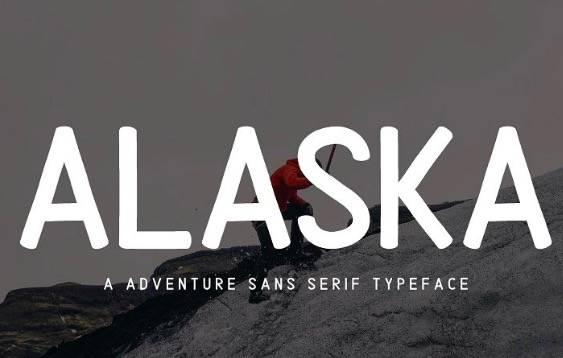 Alaska Sans Serif Font download