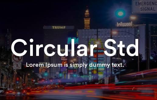 Circular Std Font