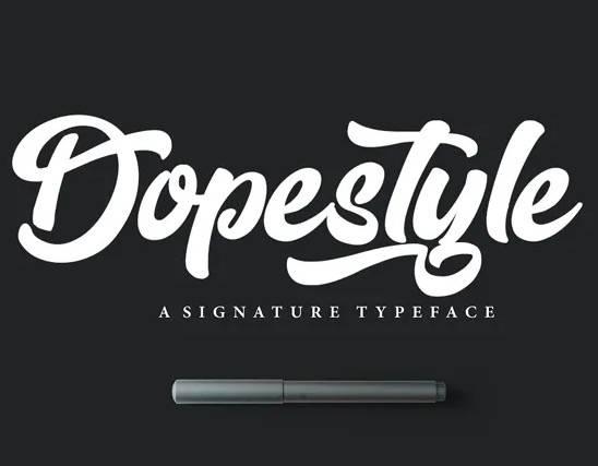 Dopestyle Script Font