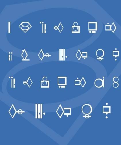 Kryptonian Font download