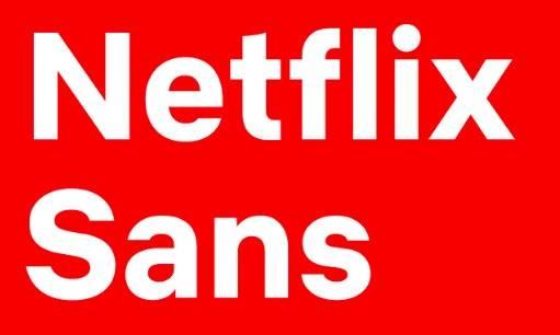 Netflix Font