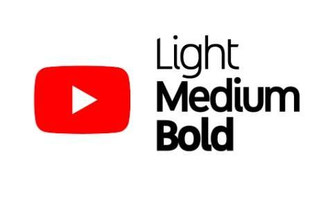 YouTube Sans Medium Font