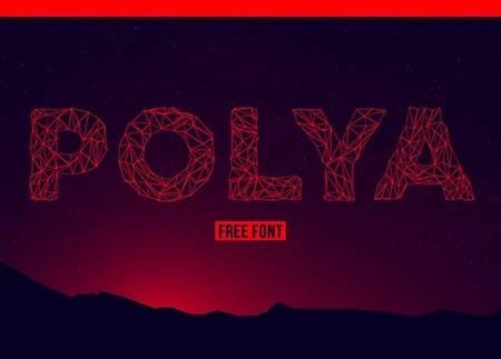 Polya Decorative Font