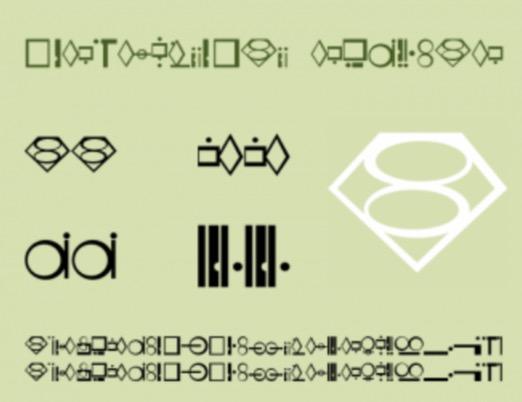kryptonian font free