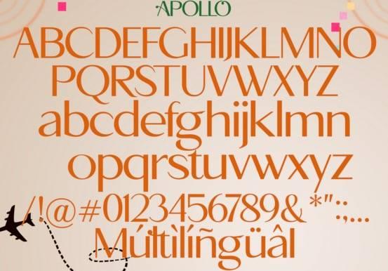 Apollo Sans Font