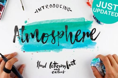 Atmosphere Font download