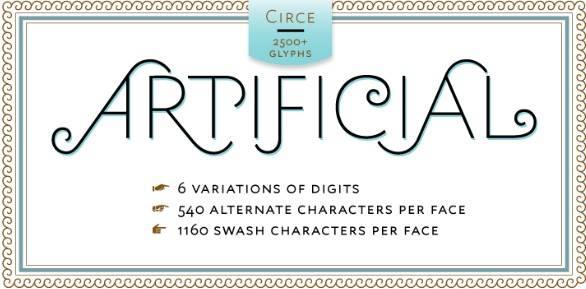 Circe Sans-Serif font free