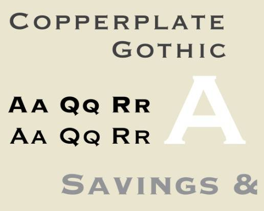 Copperplate Gothic Bold download