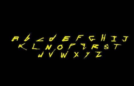 Cyberpunk Decorative font free
