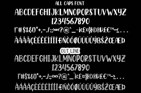 Hashed Browns font free download