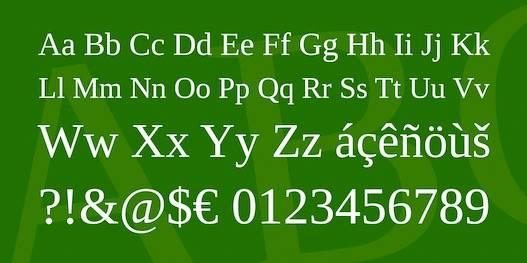 Liberation Serif Font download