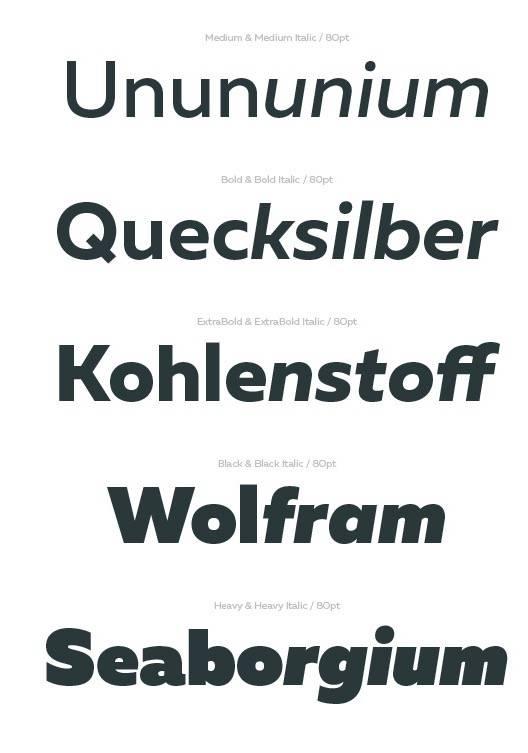 free Muller font