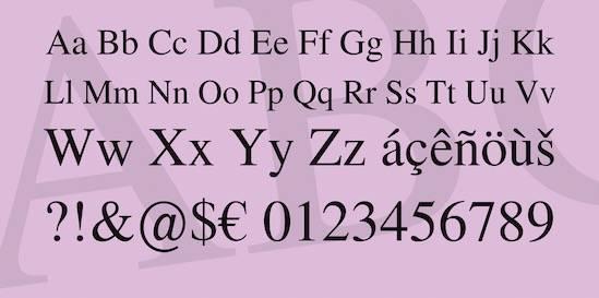 Nimbus Roman No9 L Font Family download